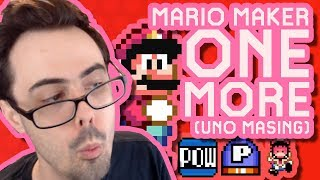 Mario Maker - BACK DOWN THE RABBIT HOLE WE GO (Unique Tech/Puzzles) | One More #11