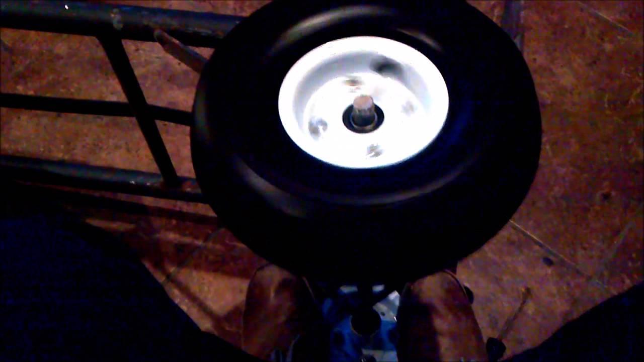 change tire wheel  dolly  hand truck youtube
