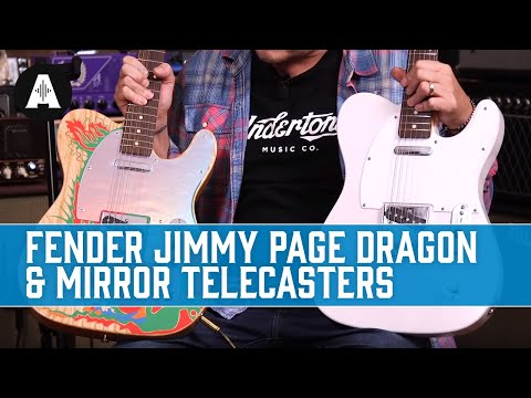 Fender Jimmy Page Dragon & Mirror Telecasters - A Whole Lotta Guitar!