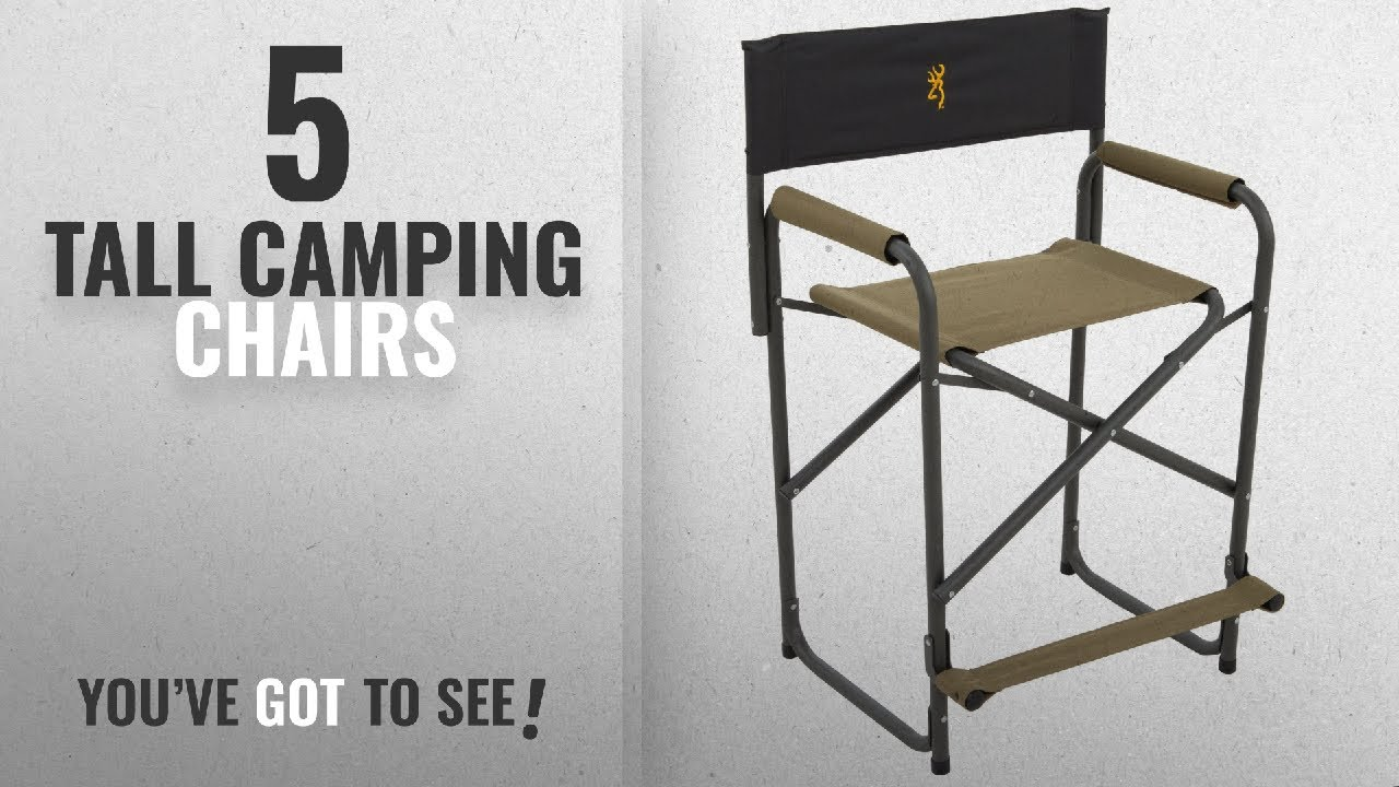 Top 5 Tall Camping Chairs [2018]: Browning Camping Directors Chair XT