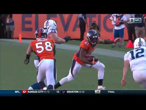 NFL 2016 Week 2 Highlights: Indianapolis Colts at Denver Broncos