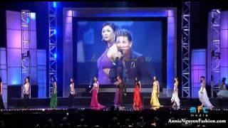 Nua Vang Trang Dam Vinh Hung Annie Nguyen Fashion Miss VN Global Remix