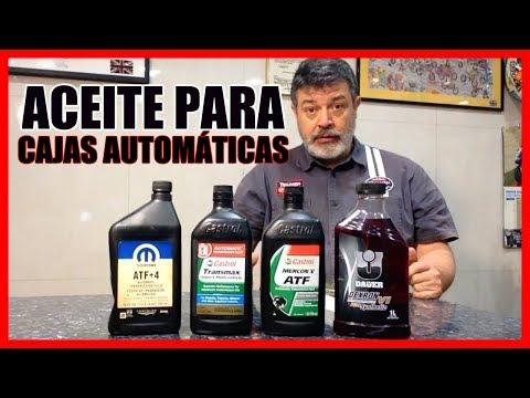 TIPOS de ACEITES para CAJAS AUTOMÁTICAS