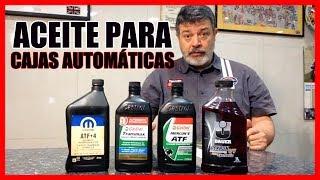 TIPOS de ACEITES para CAJAS AUTOMÁTICAS thumbnail