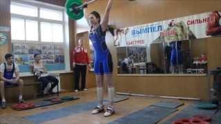 """""""Просто"""" тяжелая атлетика,соревнования Ковров"""
