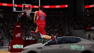 NBA 2K13 - All Star Weekend DLC, Schiacciate e Tiri da 3