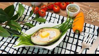 Запечённое яйцо с авокадо | Кто готовит — тот не моет