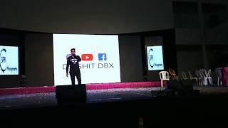 DIKSHIT DBX || lay lay lay ( Beatbox cover) || live performance || Hyderabadi beatbox