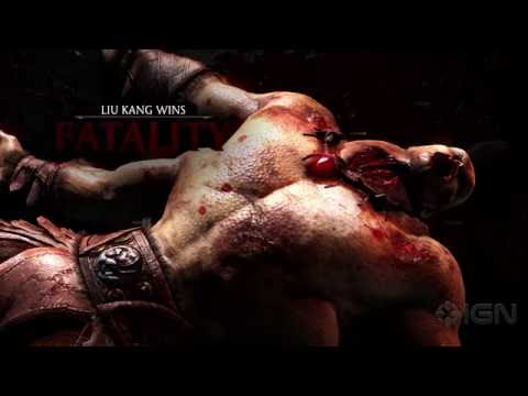 Mortal Kombat X: All Fatalities and X-Rays...
