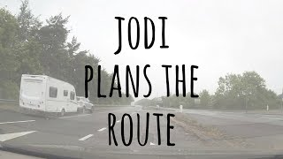 Jodi Plans the Route to Abergavenny
