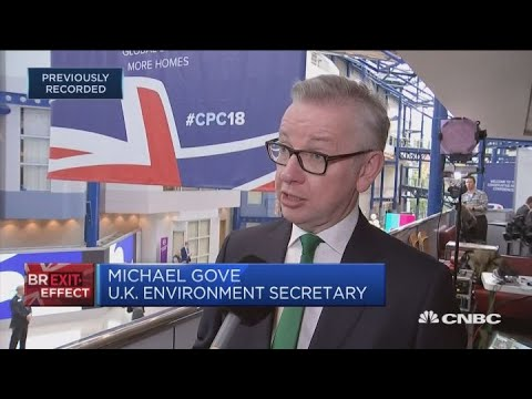 UK environment secretary: Confident that the PM will get the best possible deal | Squawk Box Europe