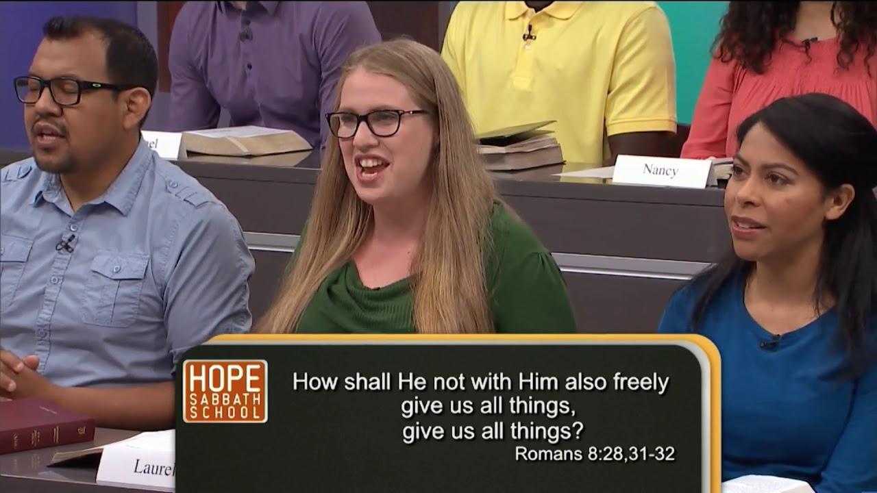 Hope Sabbath School: Lesson 13   Christian Living 4th Qtr 2017