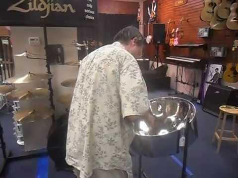 Happy Birthday, on steel drum