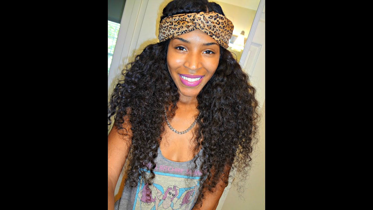curly hair with headband styles how to make a turban 6850