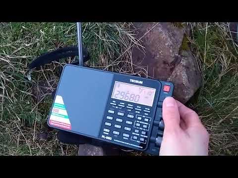 Unknown signal on 29680 kHz copied in Edinburgh 17:43 UTC