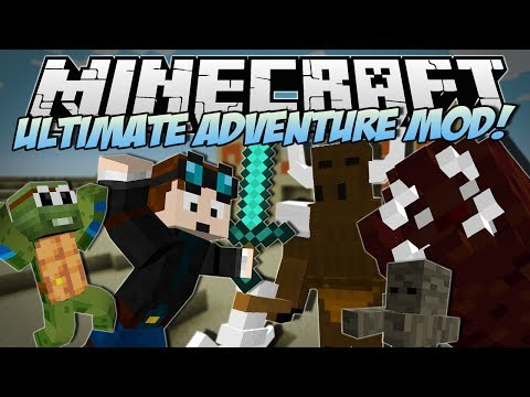 Minecraft   ULTIMATE ADVENTURE MOD! (Meet Timmy the Adventure Turtle!)   Mod Showcase