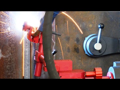 Promotech - Rail Bull Welding Track Carriage