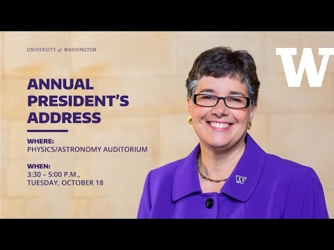 2016 UW Annual President's Address
