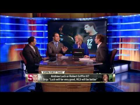 NFL: Andrew Luck or Robert Griffin III?