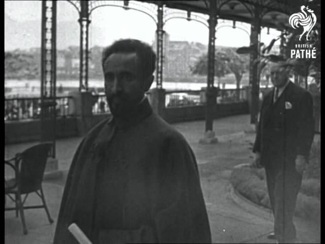 Haile Selassie At League Of Nations (1937) - YouTube