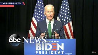 Gambar cover Biden projected to win Arizona, Florida and Illinois Democratic primaries