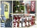 Christmas Outdoor Decorating Ideas - Winter Porch Decorating Ideas