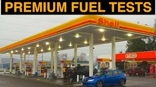 is premium fuel worth it? premium vs regular 5 vehicles tested