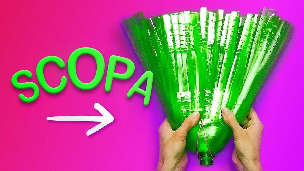 Bricolage Con Bottiglie Di Plastica.25 Creazioni Fai Da Te Con Bottiglie In Plastica Youtube