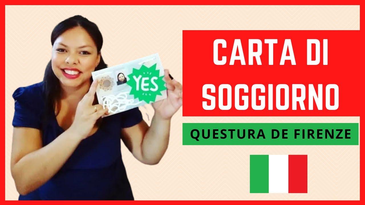 CARTA di SOGGIORNO por MATRIMÔNIO - Questura de Firenze ...
