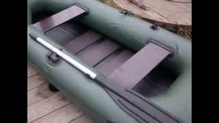 Сборка надувной лодки Elling Навигатор 240С