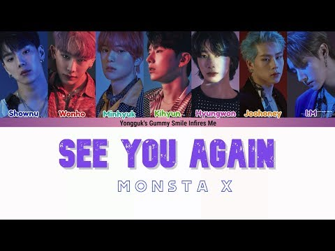 Download MONSTA X 몬스타엑스 - SEE YOU AGAIN Follow: Find You COLOR CODED S HAN|ROM|ENG Mp4 baru