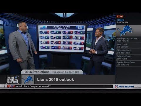 NFLN Got the Detroit Lions Going 5-11 in 2016? WTF?