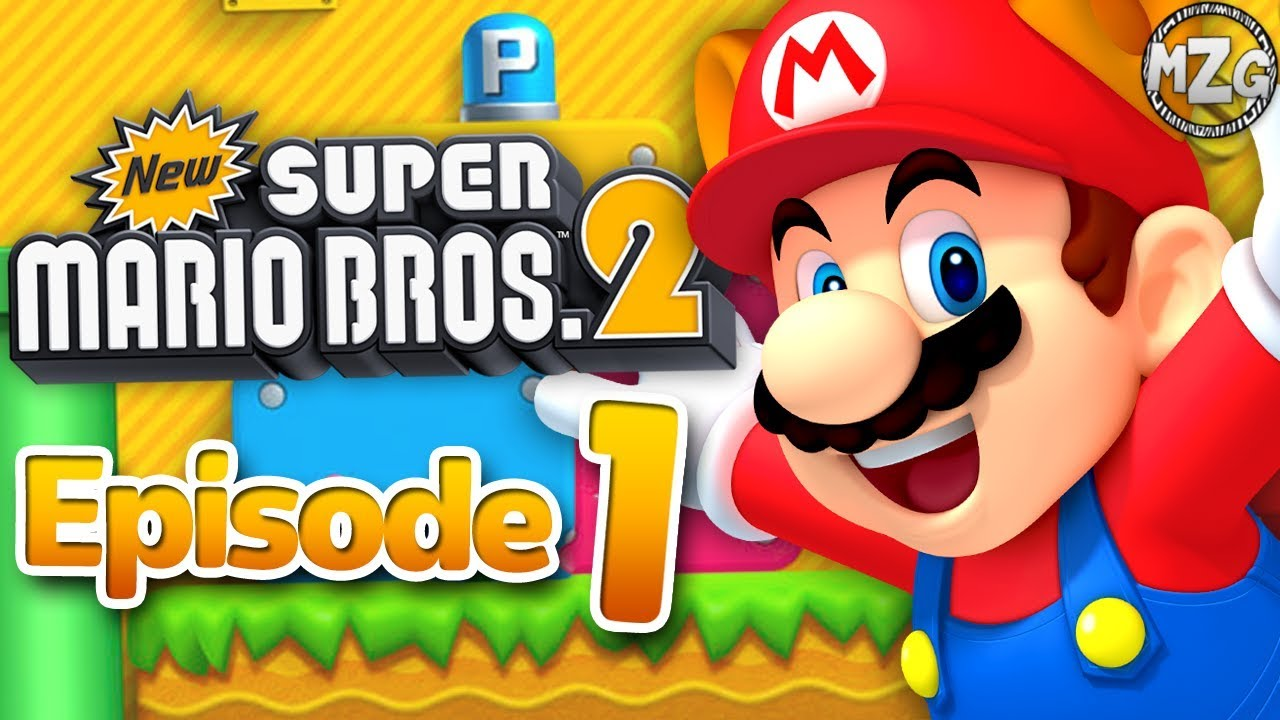 New Super Mario Bros 2 Gameplay Walkthrough Episode 1 World 1