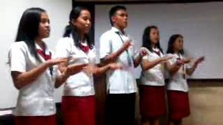 WE ARE THE WORLD BY: WMSUNIANS BEED 111-A