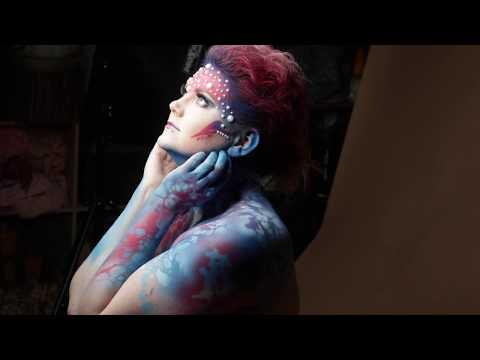 Making Of Extrem Make Up Fotoshooting im Studio