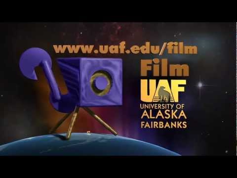 Film UAF Logo with Aurora 2011 Gold with music