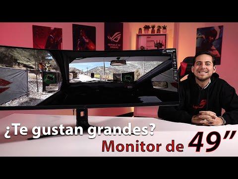 ¿Más grande es mejor? Monitor ROG Strix XG49VQ