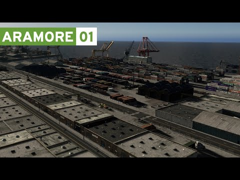 Cities Skylines: Aramore (Episode 1) - Pacific Northwest Port City