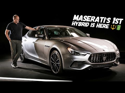 The New 2021 Maserati Ghibli Hybrid Is HERE!