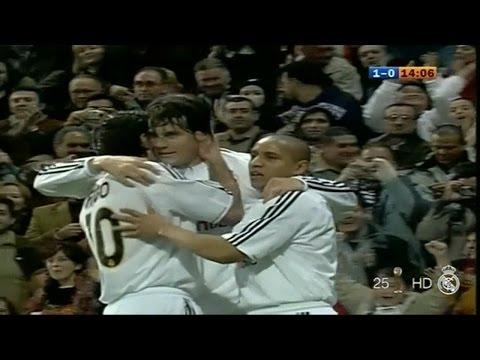 real madrid vs Villarreal 2003/2004 full match 2-1