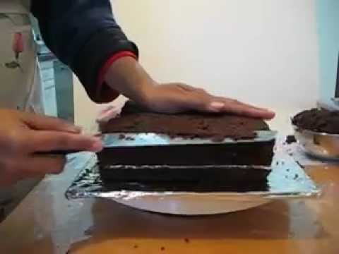 how to make a cake look like a book