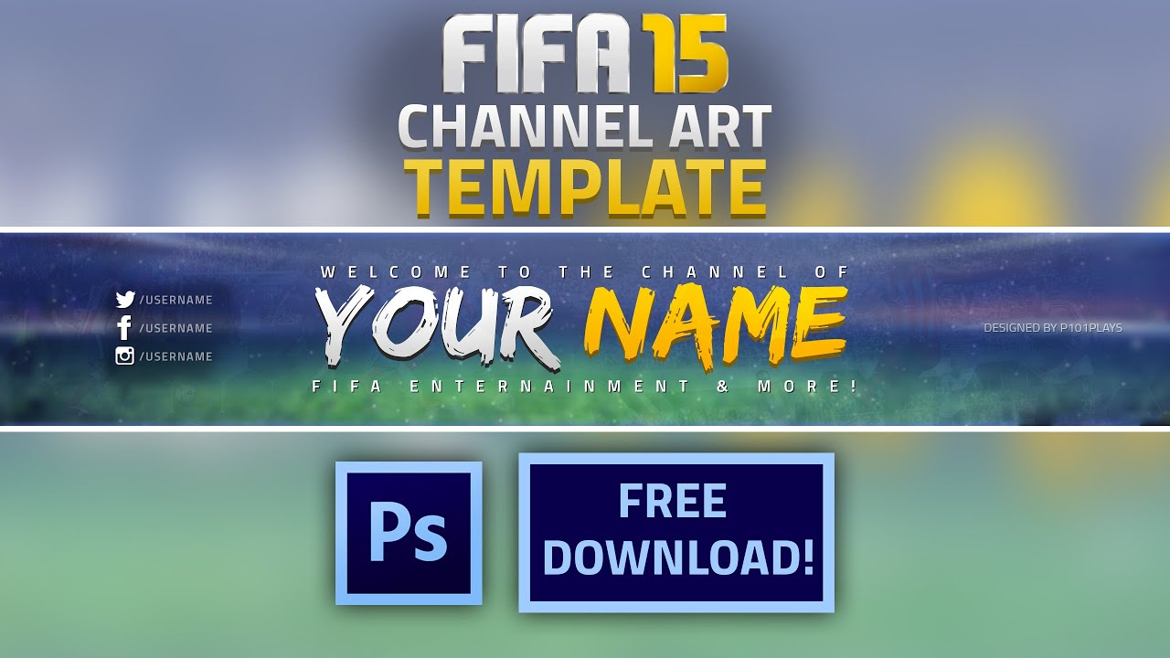 youtube header template - Romeo.landinez.co