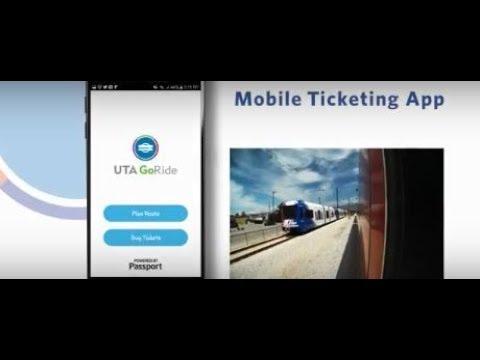 UTA GoRide Mobile Ticketing