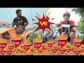 KFC Chicken Boneless Strips Bucket Challenge Without Water Ft YPM Vlogs