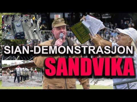 SIAN-DEMONSTRASJON SANDVIKA