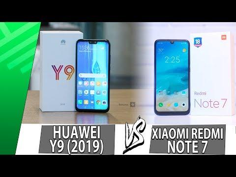 huawei-y9-(2019)-vs-xiaomi-redmi-note-7- -enfrentamiento- -top-pulso