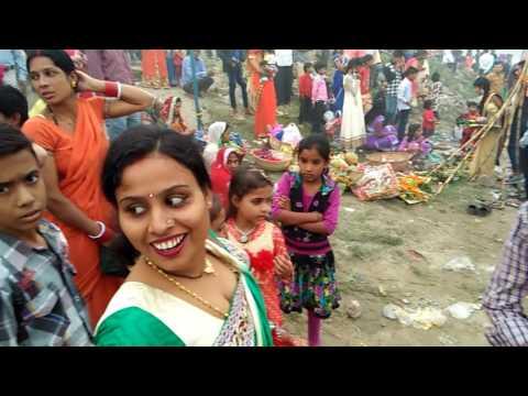 Kalindikunj chhath pooja 06/11/2016