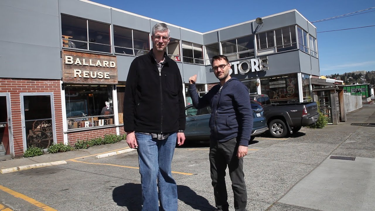 ballard reuse: a seattle architectural salvage store walk-through