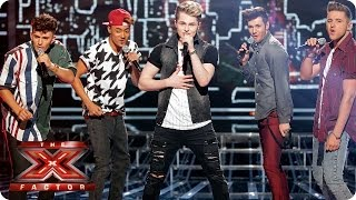 Kingsland Road sing Oh, Pretty Woman by Roy Orbison - Live Week 3 - The X Factor 2013