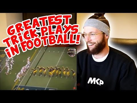 Rugby Player Reacts to Greatest Trick Plays in Football History!